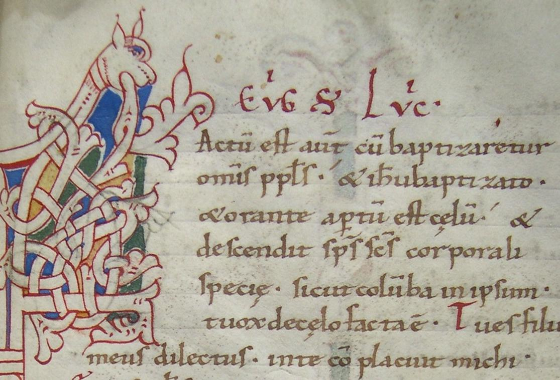 Capolettera decorato. Sec. XI-XII (Ms. O.IV.1)
